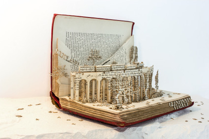 Bookmarking Book Art - Thomas Wightman | All Things Bookish: All about books, all the time | Scoop.it