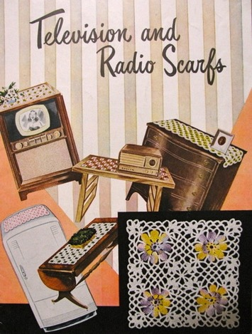 Busy Hands from the 1950s – Making TV and Radio Scarfs - Blog - CollectorsQuest.com | Kitsch | Scoop.it
