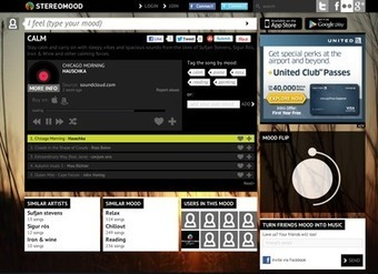 Stereomood Relaunches Mood-Based Music Streaming Service | Radio 2.0 (En & Fr) | Scoop.it