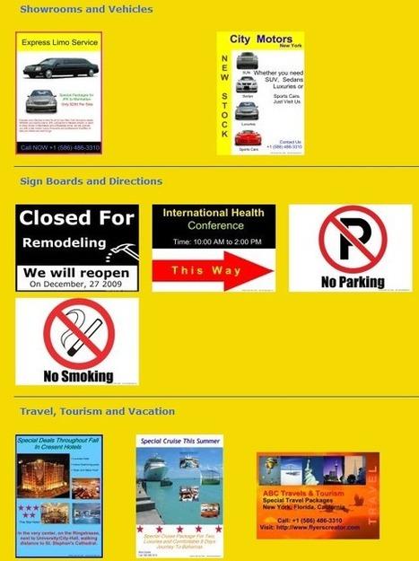 Logiciel gratuit Easy Flyer Creator 3.0 Licence gratuite giveaway pour Windows | assistance outils infographie | Scoop.it