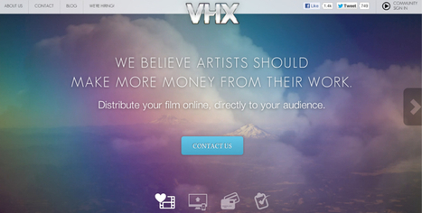 @vhxtv - We believe artists should make more money from their work.   Online Video Provider (OVP) List   Scoop.it