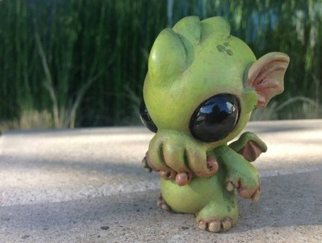 This Baby Cthulhu Sculpture is Insanely Adorable | All Geeks | Scoop.it