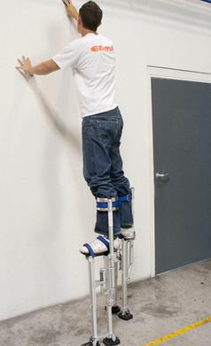 Des échasses pour les travaux en hauteur dans la maison   Bâtiment, Bricolage   Scoop.it