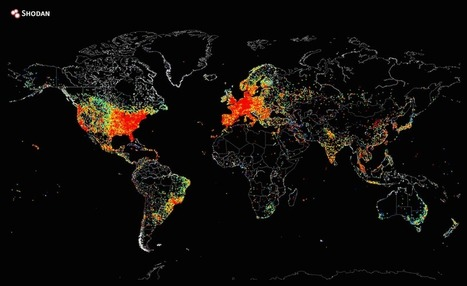 The Big Picture : a heat map of the 'entire' internet | The Blog's Revue by OlivierSC | Scoop.it
