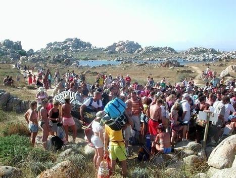 Surfréquentation et dégradation des sites. L'île Lavezzu. | Géographie : les dernières nouvelles de la toile. | Scoop.it