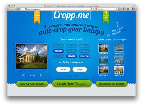 Recorta imágenes fácilmente desde la web con Cropp.me | Educando con TIC | Scoop.it