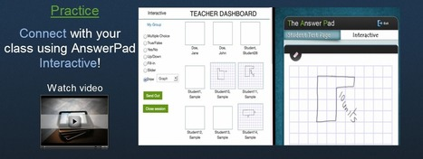 The Answer Pad | The Graphically-Based Student Response and Assessment System | Tech and learning | Scoop.it