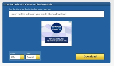 Comment télécharger les vidéos depuis les réseaux sociaux - Blog du Modérateur | utilitaires web et autres | Scoop.it