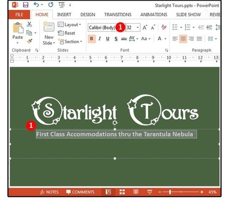 Powerpoint background tips: How to customize the images, colors and borders | Information Technology Learn IT - Teach IT | Scoop.it