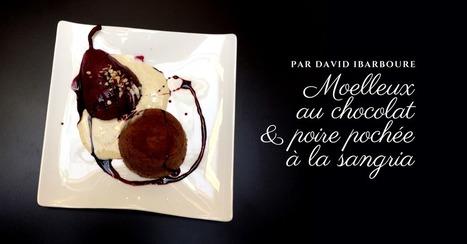 La recette du moelleux au chocolat par David Ibarboure - Essor | Cuisine et cuisiniers | Scoop.it