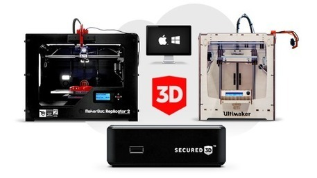 Control 3D printers remotely & protect your designs with Secured3D | Digital Design and Manufacturing | Scoop.it
