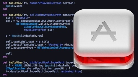 Building native iOS apps with RubyMotion | Binterest | Scoop.it