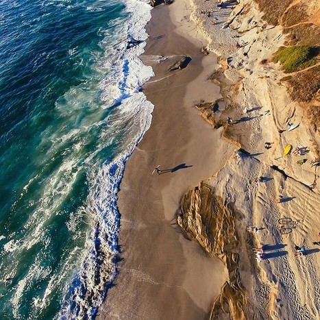 21 stunning beach photos captured with a drone   Google Plus Business Pages   Scoop.it