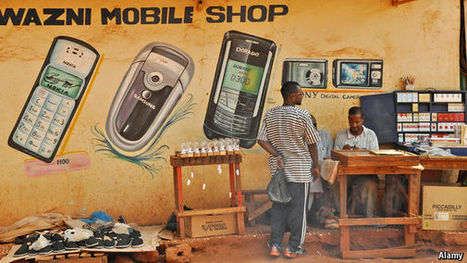 Mobile phones are transforming Africa | Mr Tony's Geography Stuff | Scoop.it