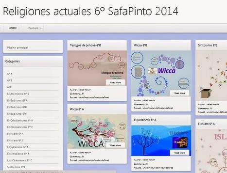 Las religiones del mundo ~ 3er ciclo primaria Colegio Sagrada Familia Pinto | rafa martin aguilera | Scoop.it
