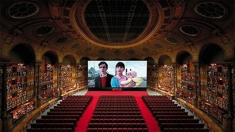 La bibliothèque Richelieu se transforme en salle de cinéma | La vie des BibliothèqueS | Scoop.it