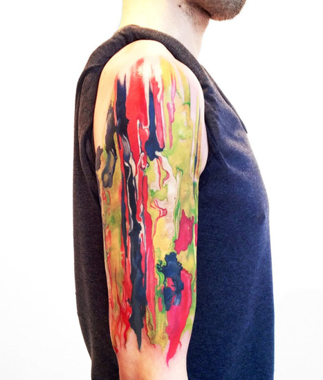 #Tattoos Inspired by #Painting #Techniques. #art #ink | Luby Art | Scoop.it