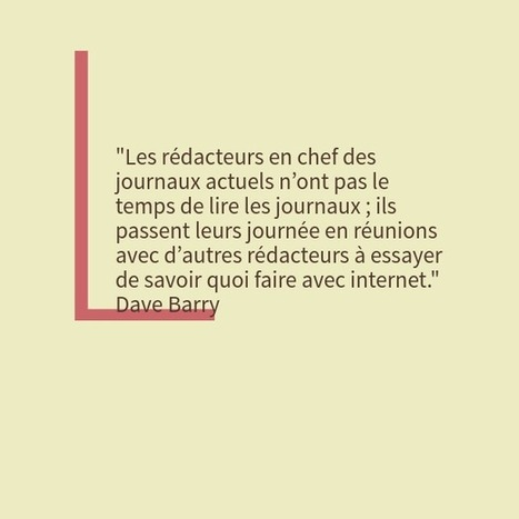 Dave Barry et le red' chef d'aujourd'hui | Mediapeps | Scoop.it
