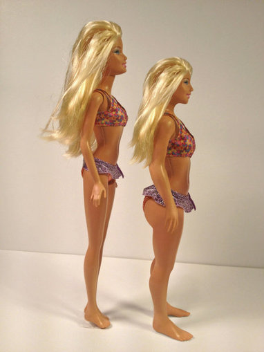 What Barbie Would Look Like If She Resembled an Actual Woman (PHOTOS) | Global Evolution: Will we be in time? | Scoop.it