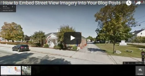 Maak zelf een game of quiz op basis van Google Maps Street View | E-leren | Scoop.it