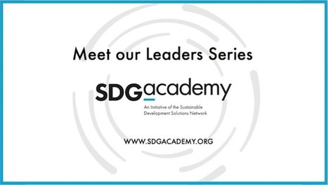 SDG Academy | Knowledge Cloud | Opening up education | Scoop.it