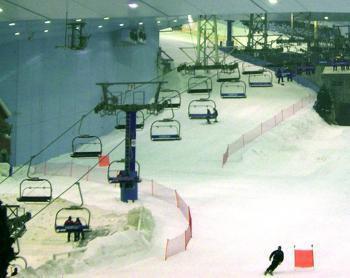 une piste de ski indoor en haute garonne e