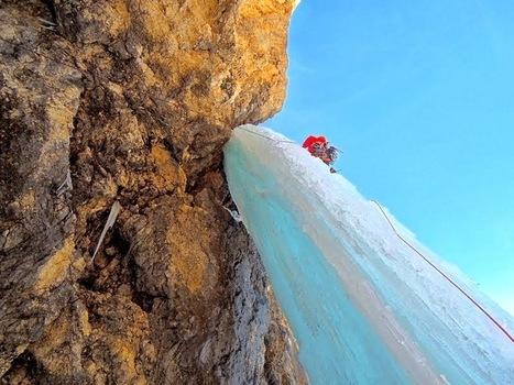 Beau mixte dans les Dolomites : Pesce et Mercier ouvrent et découvrent | ski de randonnée-alpinisme-escalade | Scoop.it
