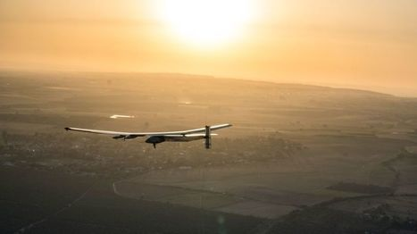 Solar Impulse completes Atlantic crossing with landing in Seville - BBC News | Oven Fresh | Scoop.it