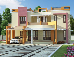House Elevation Designs|3D House Elevation|Acub...
