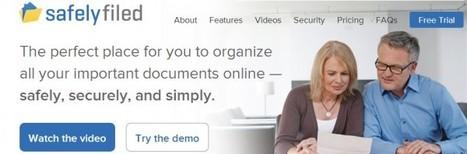 SafelyFiled, organizando online tus documentos más importantes   Las TIC y la Educación   Scoop.it