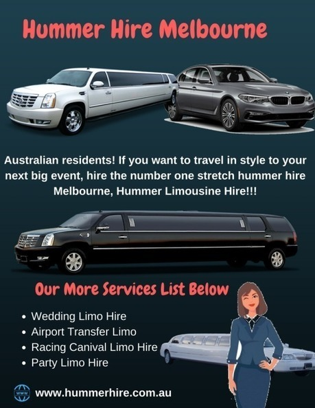 All about Hummer Limo Hire Melbourne | Hummer H...