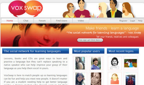 7 Social Networks Designed to Help You Learn A New Language - SocialTimes | e-learning and teaching | Scoop.it