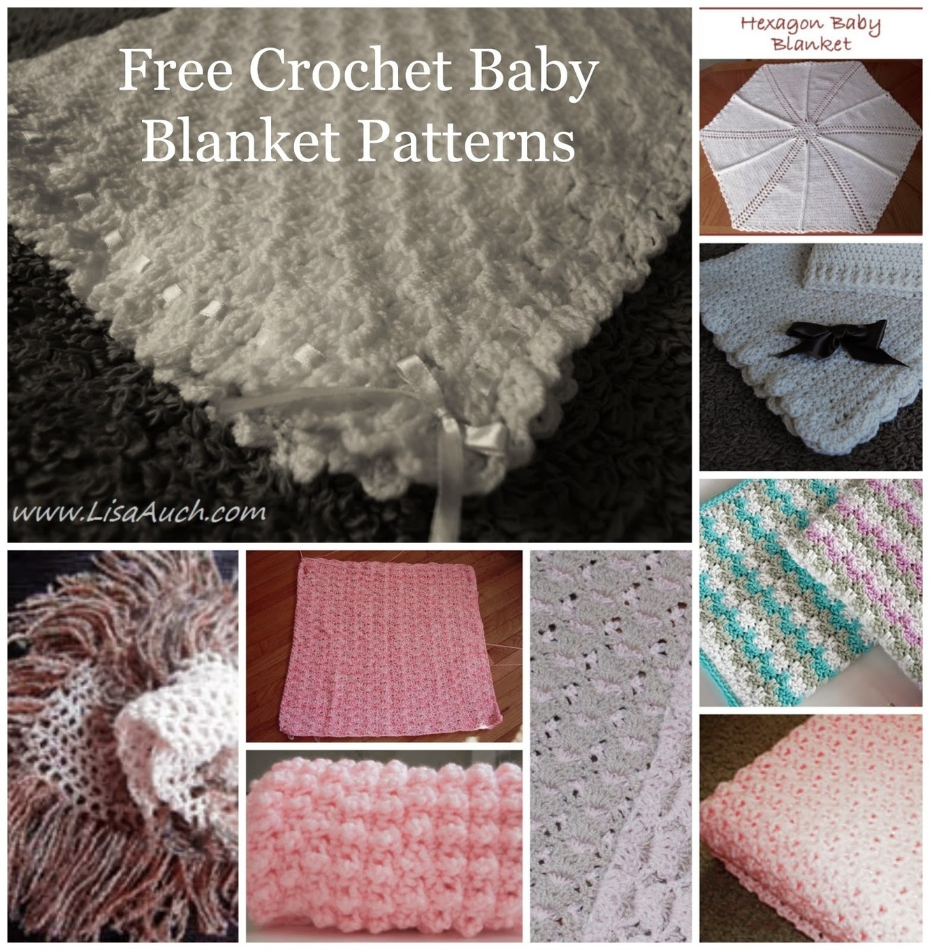Free Crochet Patterns and Designs by LisaAuch  ...