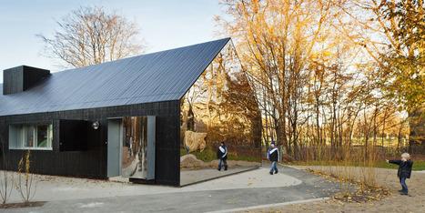 La maison miroir. Architectes : MLRP   Ageka les matériaux pour la construction bois.   Scoop.it