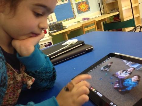 How Does iPad Workflow Fluency Look Like in Kindergarten | Ipads in early years and KS1 education | Scoop.it