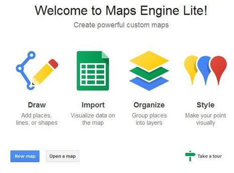 Google Maps Engine | Cultura de massa no Século XXI (Mass Culture in the XXI Century) | Scoop.it