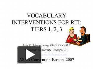 VOCABULARY INTERVENTIONS FOR RTI: TIERS 1, 2, 3 | Reading, Writing, Word study, and Content Literacy | Scoop.it