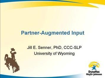 Partner Augmented Input - Instructional Video   DynaVox   Aided Language Input   Scoop.it