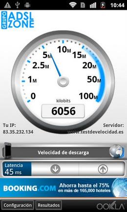 Nueva versión gratuita del Test de velocidad en Android   Mobile Technology   Scoop.it