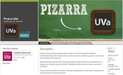 Gustavo Martínez Blog´s » Blog Archive » Pizarra UVa: Un Whatsapp español para estudiantes y profesores | herramientas colaborativas | Scoop.it