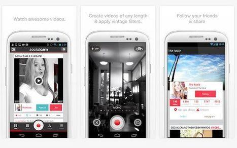 Socialcam, red social móvil similar a Instagram pero para vídeos   Socialart   Scoop.it