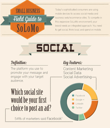 Small Business Field Guide to #SoLoMo (#Infogra
