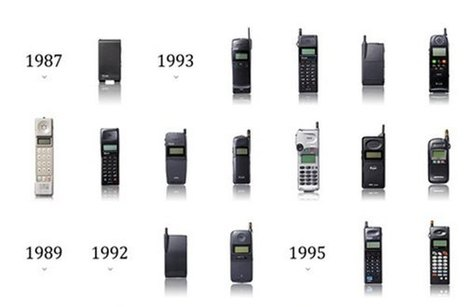 l evolution des telephones