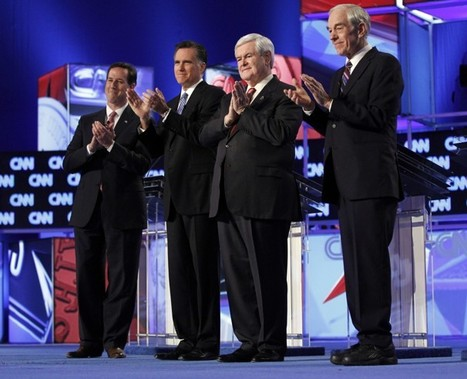 WHEN GINGRICH ATTACKS!: South Carolina GOP Debate, Four Survivors spar; Gingrich Adds Host To Fray | TonyPotts | Scoop.it