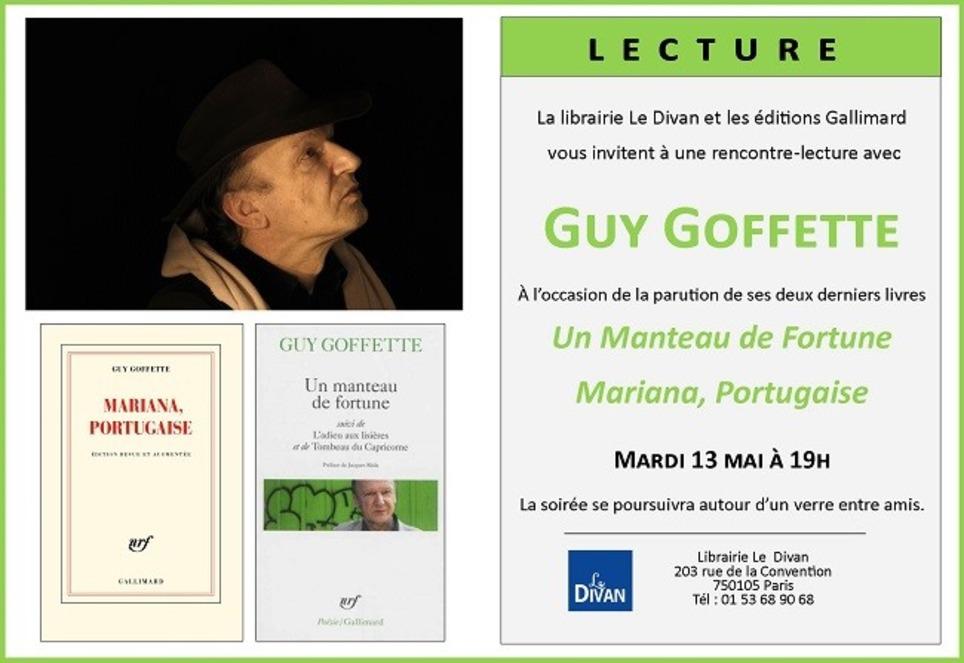 [agenda] Guy Goffette, Paris, le 13 mai 2014   Poezibao   Scoop.it
