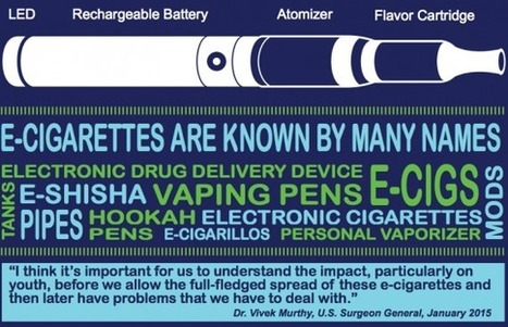 3 More Things To Know About E-cigarettes | School Nursing | Scoop.it