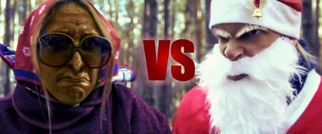 Babbo Natale (Santa) vs. Befana (the old flying Witch) - La Dolce Vallata | Le Marche another Italy | Scoop.it