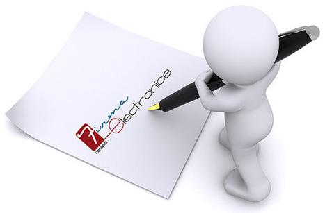 Factura electrónica obligatoria y la firma electrónica en la Administración Pública - Material Digital | @dministracion | Scoop.it