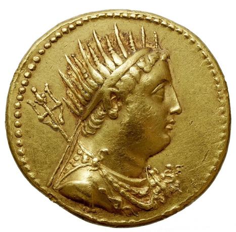 L'or des rois d'Égypte d'Alexandre à Cléopâtre (332-30 av. J.-C.) dans les collections du Cabinet des Médailles – INHA | L'actu culturelle | Scoop.it