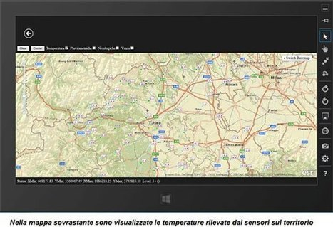 Creare un'app Windows8/WinRT (HTML5/javascript) di meteo | ArcGIS API for JavaScript (How create a map application using ESRI framework) | Scoop.it
